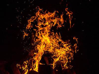 Photograph - Element Of Fire by Martin Liebermann
