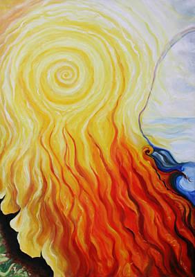 Painting - Elements B by Sandra Yegiazaryan