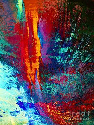Elements Fight Art Print by Klara Acel