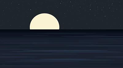 Elements -  Indigo Ocean Art Print