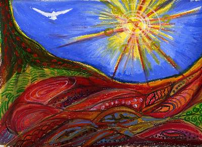 Elements Of Earth Art Print