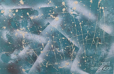 Painting - Elements Of Winter by Theresa Kennedy DuPay