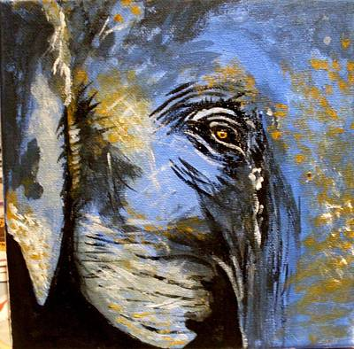 Painting - Elephant 4 by Anne Gardner