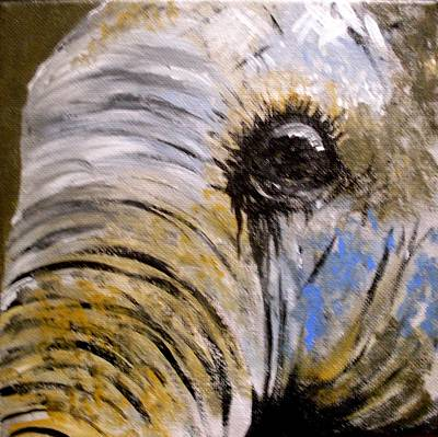 Painting - Elephant by Anne Gardner