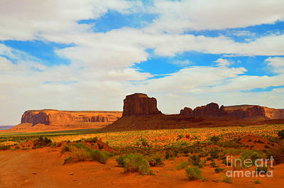 Photograph - Elephant Butte At Monument Valley by Debra Thompson