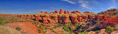 Photograph - Elephant Canyon Panorama by Greg Norrell