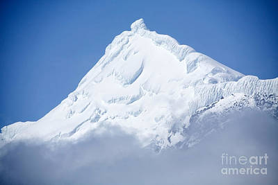 Elephant Island Mountain Peak Art Print