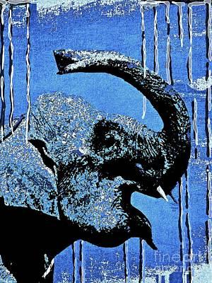 Painting - Elephant Joy by Saundra Myles