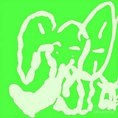 Art By James Eye Digital Art - Elephant Puke by James Eye