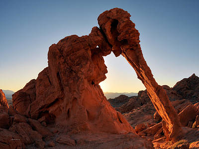 Valley Of Fire Photograph - Elephant Rock by Leland D Howard