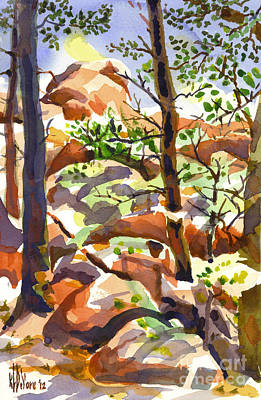 Fanciful Painting - Elephant Rocks Revisited IIb by Kip DeVore