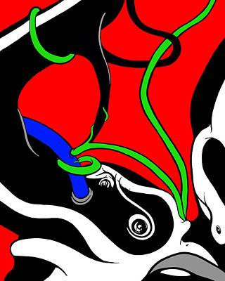 Digital Art - Elephant Titus by Craig Tilley