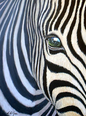 Elephant's Eye Original by Linda Wilson