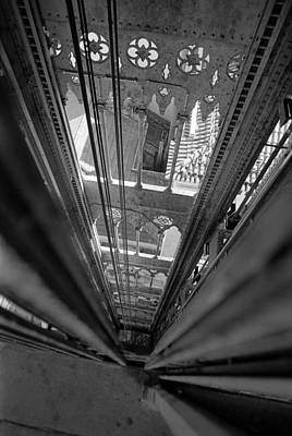 Photograph - Elevador De Santa Justa by Luis Esteves