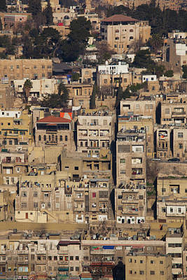Photograph - Elevated City View From Jebel by Panoramic Images