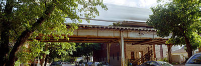 Elevated Train On A Bridge, Ravenswood Art Print