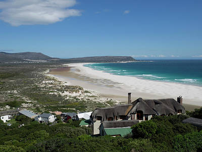 Elevated View Of A Bay, Noordhoek, Cape Print by Panoramic Images