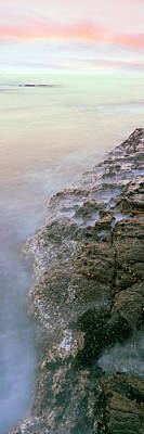 Roca Photograph - Elevated View Of Coast, Las Rocas by Panoramic Images