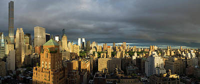 Elevated View Of Midtown Manhattan Art Print by Panoramic Images