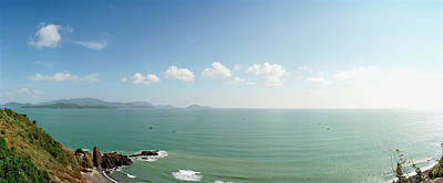 Elevated View Of Sea, Nha Trang, Khanh Art Print by Panoramic Images