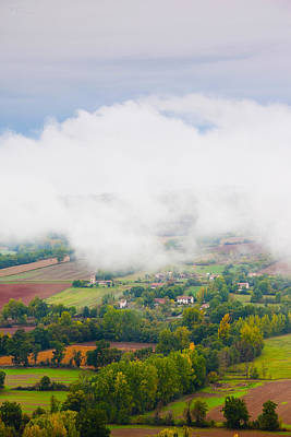 Ciel Photograph - Elevated View Of The Cerou Valley by Panoramic Images