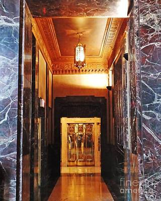 Photograph - Elevator Louisiana State Capitol by Lizi Beard-Ward