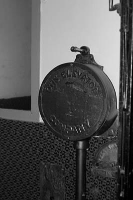 Photograph - Elevator Operator by Trent Mallett