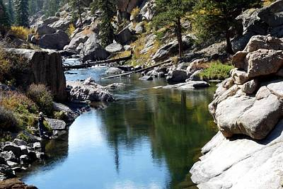 Photograph - Eleven Mile Canyon In Summer by Marilyn Burton