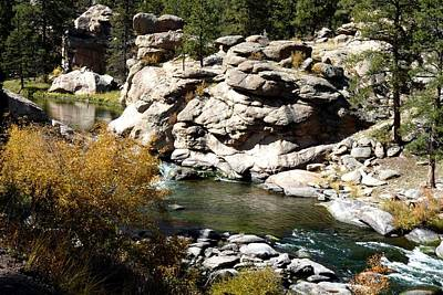 Photograph - Eleven Mile Canyon - Mountain Stream by Marilyn Burton
