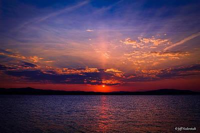 Photograph - Eleven Mile Sunset by Jeff Niederstadt