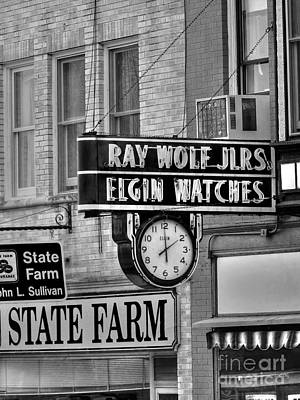 Photograph - Elgin Watches In Woodstock by David Bearden