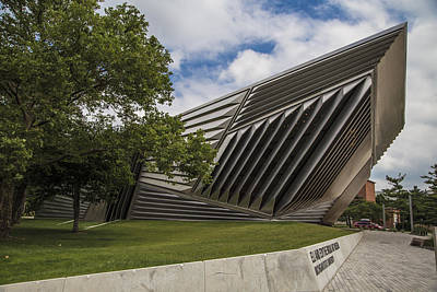 Photograph - Eli And Edythe Broad Art Museum  by John McGraw