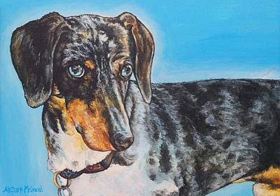 Painting - Eli by Beth Clark-McDonal