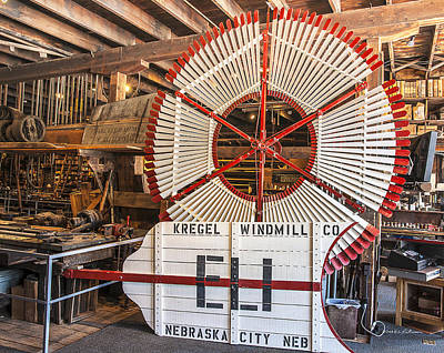 Photograph - Eli Windmill by Edward Peterson