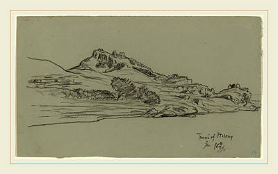 Ptolemy Drawing - Elihu Vedder, Tmui Of Ptolemy, American, 1836-1923 by Litz Collection