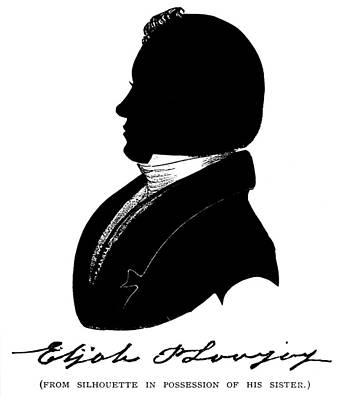 Abolition Movement Painting - Elijah Parish Lovejoy (1802-1837) by Granger