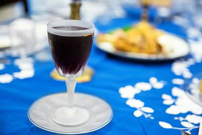 Passover Digital Art - Elija's Glass Of Wine by Jodi Jacobson