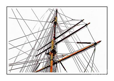 Photograph - Elissa A Tall Ship  by Audreen Gieger