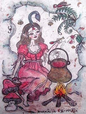 Painting - Elixir by Koral Garcia