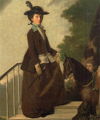 Elizabeth Bridgman Art Print by Litz Collection