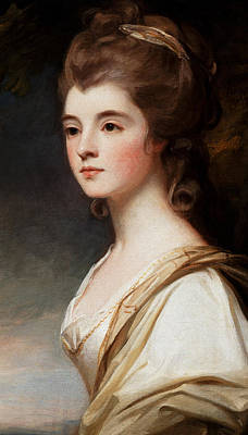 Elizabeth Duchess Of Sutherland Art Print by George Romney