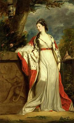 Elizabeth Gunning, Duchess Of Hamilton And Argyll Print by Litz Collection
