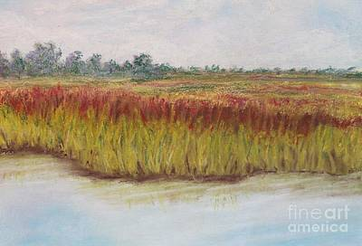 Painting - Elizabeth River by Kathy Staicer