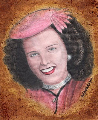 Elizabeth Short Before Art Print by David Shumate