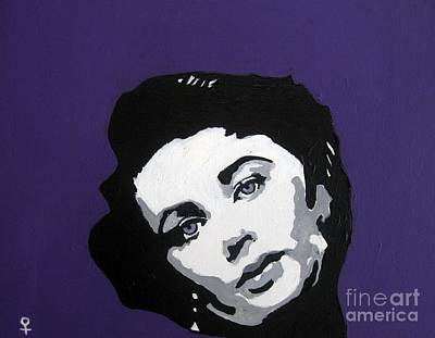 Postmodern Mixed Media - Elizabeth Taylor by Venus