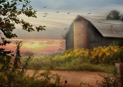 Abandoned Digital Art - Elk County by Lori Deiter