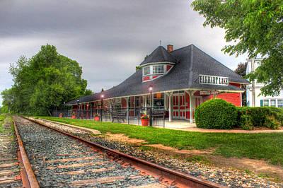 Elkhart Lake Historic Train Depot Art Print