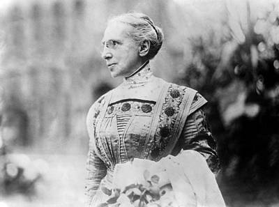 Flagg Photograph - Ella Flagg Young (1845-1918) by Granger