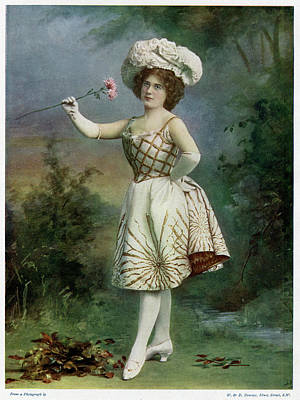 Ella Snyder, Actress In 'the Belle Art Print by Mary Evans Picture Library