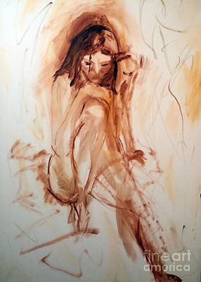 Nude Painting - Elle by Pierre Robillard